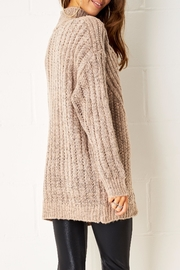 frontrow Cable Knit Jumper - Side cropped