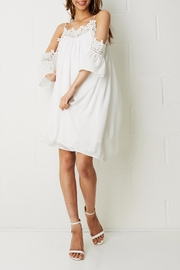 frontrow LWD Cold Shoulder Dress - Product Mini Image