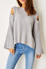 frontrow Cold Shoulder Jumper - Product Mini Image