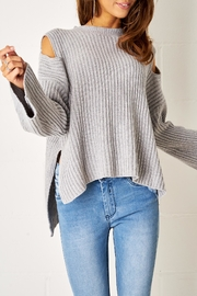 frontrow Cold Shoulder Jumper - Front full body