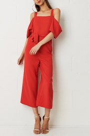 frontrow Thea Cold Shoulder Jumpsuit - Product Mini Image