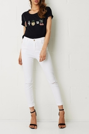frontrow Crystal Embellished Top - Front cropped