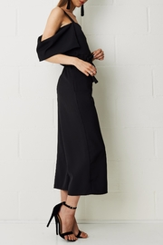 frontrow Thea Culotte Jumpsuit Black - Front full body