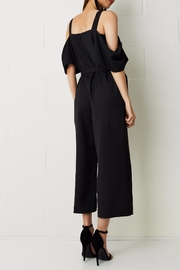 frontrow Thea Culotte Jumpsuit Black - Side cropped