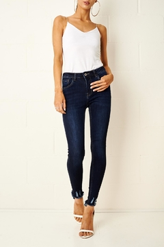 Shoptiques Product: Lexi Dark Blue Jeans