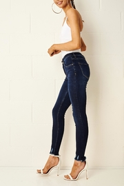 frontrow Lexi Dark Blue Jeans - Back cropped