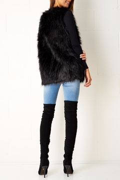 frontrow Faux Fur Gilet - Alternate List Image