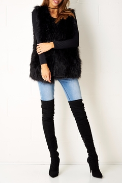 frontrow Faux Fur Gilet - Product List Image