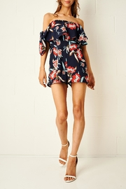 frontrow Floral Bardot Playsuit - Product Mini Image