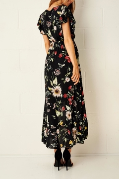 frontrow Floral Dipped-Hem Dress - Alternate List Image