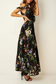 frontrow Paloma Floral Maxi Dress - Back cropped