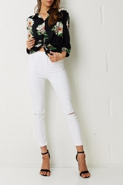 frontrow Sophie Floral Print Shirt - Product Mini Image