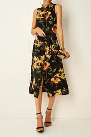 frontrow Harlinne Floral Shirt Dress - Front full body