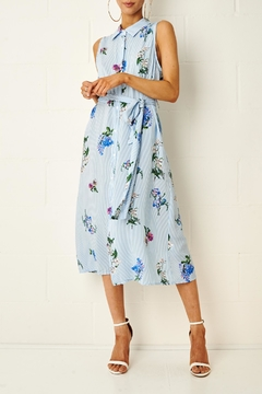 frontrow Corrine Floral Shirt Dress - Product List Image