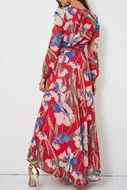 frontrow Floral Wrap Dress - Other
