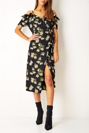 frontrow Floral Wrap Dress - Product Mini Image