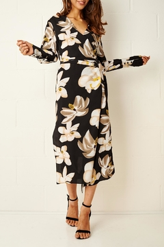 frontrow Floral Wrap Dress - Product List Image