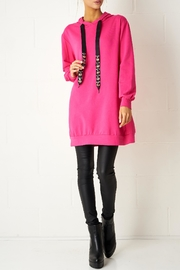 frontrow Fuschia Oversized Top - Product Mini Image