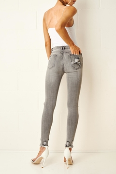 frontrow Grey Rip Jeans - Alternate List Image
