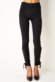 frontrow Lace Up Jeggings - Product Mini Image