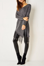 frontrow Metallic Fringe Sweater - Front full body