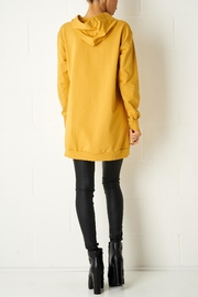 frontrow Mustard Oversized Top - Side cropped