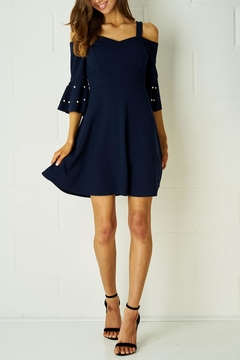 frontrow Navy Dress - Product List Image