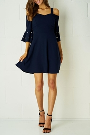 frontrow Navy Dress - Product Mini Image