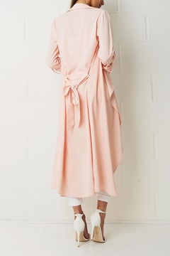 frontrow Pink Duster Coat - Alternate List Image