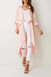 frontrow Pink Duster Coat - Product Mini Image
