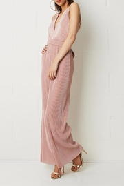 frontrow Pink Pleated Jumpsuit - Product Mini Image