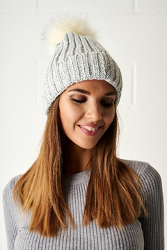 frontrow Pom Pom Hat - Alternate List Image