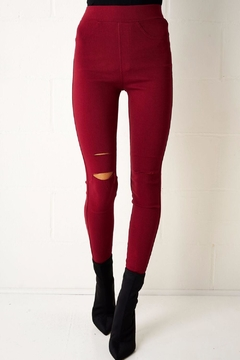 frontrow Red Jeggings - Product List Image