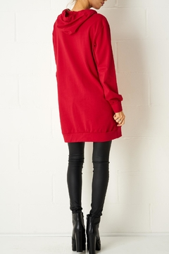 frontrow Red Oversized Top - Alternate List Image
