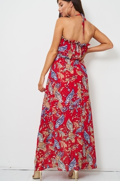 frontrow Red Paisley Dress - Alternate List Image