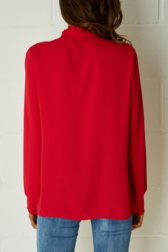frontrow Red Ribbon Blouse - Alternate List Image