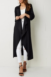 frontrow Silky Duster Coat - Front full body