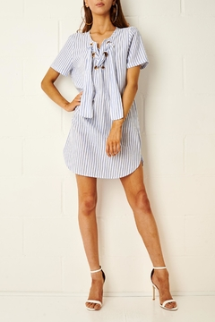 frontrow Stripe Shirt Dress - Product List Image