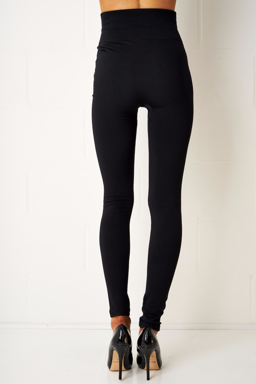 frontrow Thermal Zip Leggings - Side Cropped Image