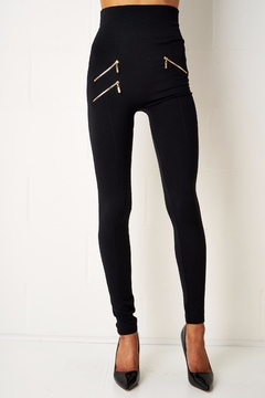 frontrow Thermal Zip Leggings - Product List Image