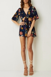 frontrow Bahia Tie Front Playsuit - Product Mini Image