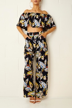 frontrow Tropical Trouser Set - Product List Image
