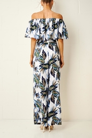 frontrow Tropical Trouser Set - Back cropped