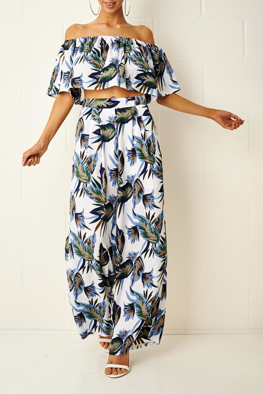 frontrow Tropical Trouser Set - Main Image