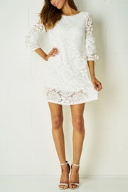 frontrow White Lace Dress - Product Mini Image