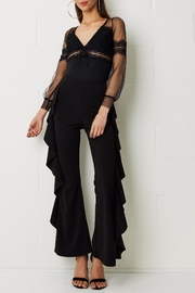frontrow Wide Crepe Trousers - Product Mini Image