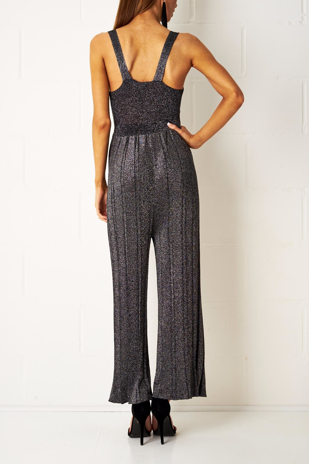 frontrow Wide Leg Jumpsuit - Side Cropped Image