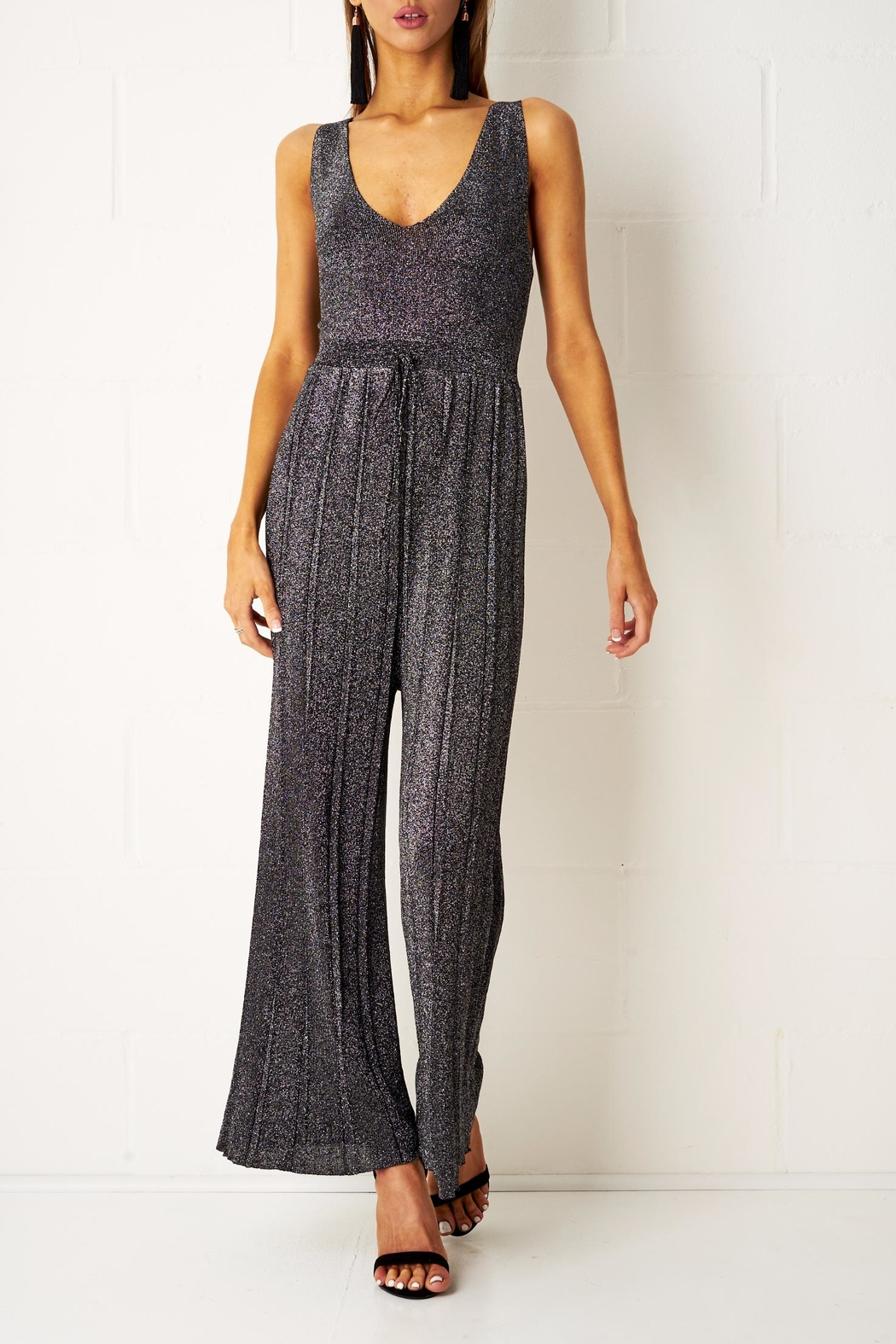 frontrow Wide Leg Jumpsuit - Main Image