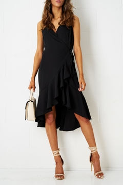 frontrow Wrap Effect Dress - Product List Image