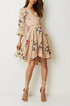 Shoptiques Product: Wrap Floral Dress